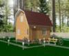 Проект деревянного дома.
