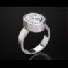 Золотое кольцо со вставкой циркония «Vintage luxury».