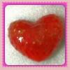Мыло ручной работы «Клубничное сердце»