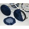 Чехол для колес коляски Laska-M (диаметр 35см - 2 шт.) серый