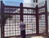 Ворота распашные промышленные (вр-6)