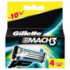 Сменные кассеты Gillette Mach 3 1 картридж (копия)