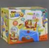 Игровой набор Барбекю, кухня, посуда, еда, всего 36 деталей, в коробке