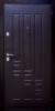 Дверь входная металлическая с МДФ накладкой 95