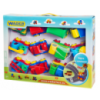 Детский Игровой Набор Машин Wader, Набор машинок Вадер, 12 штук