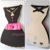 Открытка-платье для девушки