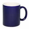 Чашка темно-синяя с логотипом Киев