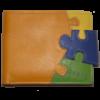 Кошелек женский Buono Leather (кожа), 01-4397(C1)-ORANGE Разные цвета, размер 115*95*10