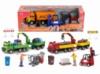Набор игрушечных машинок «Городская сервисная техника» с 1 фигурой, 3 вида, 3 +