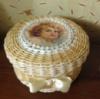 Шкатулка «Ангелочек» с бумажной лозы от автора handmade Светланы Пахомовой!