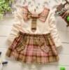 Платье детское бежевая 6081