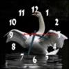 Настенные часы Лебедь