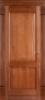 Дверное полотно глухое Ольха № 6/2 , 2000*40*600,700,800,900 мм. цвет орех