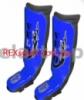 Защита для ног (голень+стопа) MMA Кожа VELO ULI-7024 красные,синие