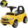 Толокар-каталка  Mercedes на колесах с резиновым покрытием, Bambi M 3147C-6 желтый
