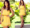Женское  симпатичное платье яркой расцветки,свободного кроя,для летних прогулок