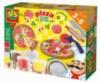 Незасыхающая масса для лепки - ПИЦЦА (4 цвета, в пластиковых баночках, инструменты) от Ses - под заказ