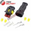 Разъем автомобильный электрический герметичный DJ7021-1.5 комплект 2pin