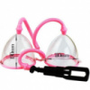 Вакуумная помпа для груди розовая