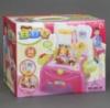 Игровой набор Барбекю кухня, посуда, еда, 36 деталей, свет, звук, на батарейке, в коробке