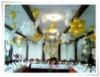 Украшение свадебного зала воздушными шарами Киев, воздушные шары на свадьбу, арки, гирлянды, фигурки.