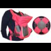 Кенгуру Geoby BD02-SBT, Розовый с серым