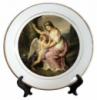 Тарелка керамическая gold, площадь запечатки d 110 мм размер тарелки d 200, PR750