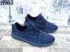 Кроссовки мужские Сетка Синий легкие очень удобные текстиль