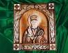 Икона « Николая Чудотворца » ручной работы