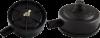 Корпус фильтра пластик штуцер резьба 1/2« диаметр 100мм (пластик)