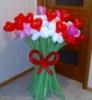 Цветы из шаров «Сердечки» , Донецк