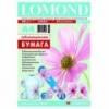 Бумага сублимационная Lomond А4 100 гр 100 листов