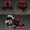 Роликовые коньки (ролики) Best Rollers 9031 «S, M и L» красные