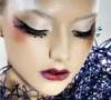 Арт-макияж с элементами декора