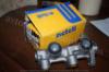 Главный тормозной цилиндр Ланос 1.5 без ABS. Metelli