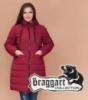 Braggart Diva 1960 | Женская теплая куртка большого размера бордовая