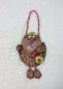 Прикольный декор-сувенир «Рыбачок Васька»