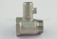 Предохранительный клапан для водонагревателя без ручки