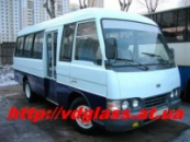 лобовое стекло для автобусов KIA Asia Combi Bus в Никополе