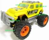 Машина на радиоуправлении р/у Джип Wrangler Большие колёса, длина 21см, аккумулятор