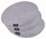 Набор 4 сервировочных коврика Fissman Cyprian-678 Ø36см, пвх
