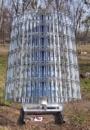 Коллектор солнечного излучения на основе линейного концентратора мощностью 2 кВт
