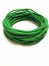 Жгут спортивный резиновый в тканевой оплетке ( резина, d-10 мм, I-100 см, зелёный ) rez.zhyt10green