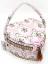 Шкатулка для рукоделия «Весна в Париже Classic Pink Heart», 24x24x12см