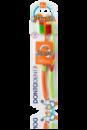 Детская зубная щетка Dontodent Junior, для детей от 6 до 12 лет.