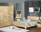 Набор мебели для спальни Эрик (кровать 1,5х1,9 м + 2 тумбочки +шкаф четырехдверный+туалетный столик)