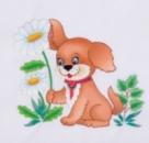 Романтичный щенок