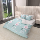 Комплект постельного белья Satin KWL-1957-A-B Евро