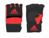 Перчатки тренировочные для MMA Speed Figh черный/красный