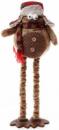 Новогодняя мягкая игрушка «Пингвин» 30х15х65см